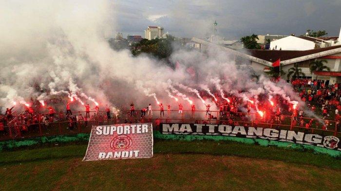 Usai Laga PSM vs PSMS, Suporter Siap Pesta di Mattoanging