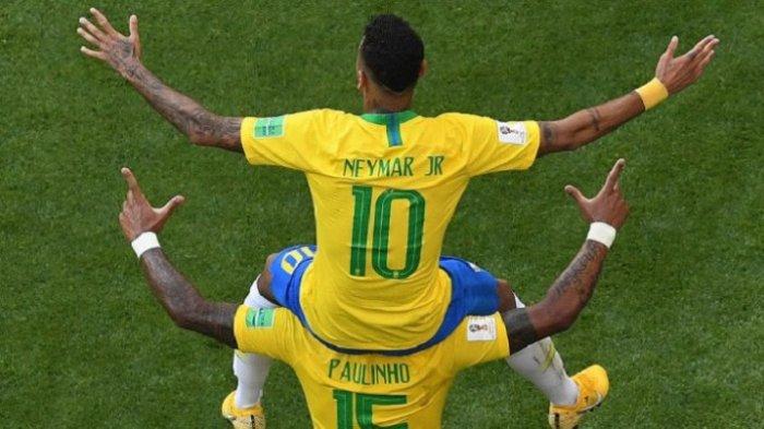 Prediksi dan Jadwal Live Streaming Brasil vs Belgia: Neymar Lagi On Fire!