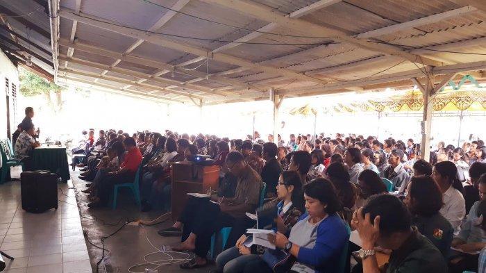 KPU Toraja Utara Beri Bimbingan Teknis KPPS Kecamatan Rantepao