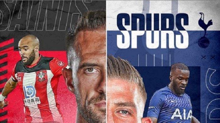3 Link Live Streaming TV Online Southampton vs Tottenham Live Mola TV & TVRI Mou Wajib Raih 3 Poin!
