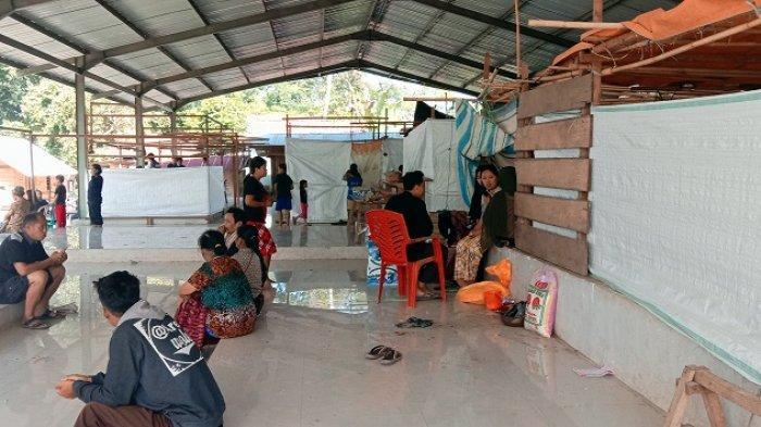 40 Orang Mengungsi Akibat Kebakaran Pasar Baru Sangalla Tana Toraja