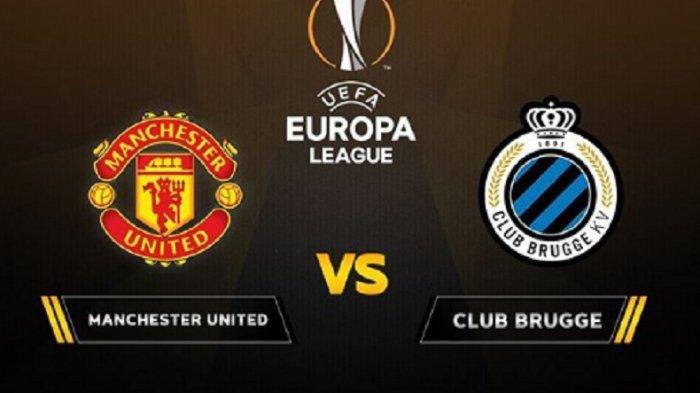 4 LINK Live Streaming TV Online SCTV Man United vs Club Brugge Liga Europa, Akses di Sini via HP