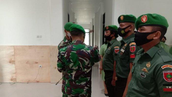 Empat Prajurit TNI Kodim 1428/Mamasa Naik Pangkat, Dua Orang dari Praka ke Kopda