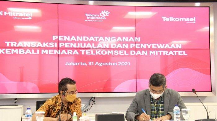 Telkomsel Alihkan 4.000 Unit Menara keMitratel