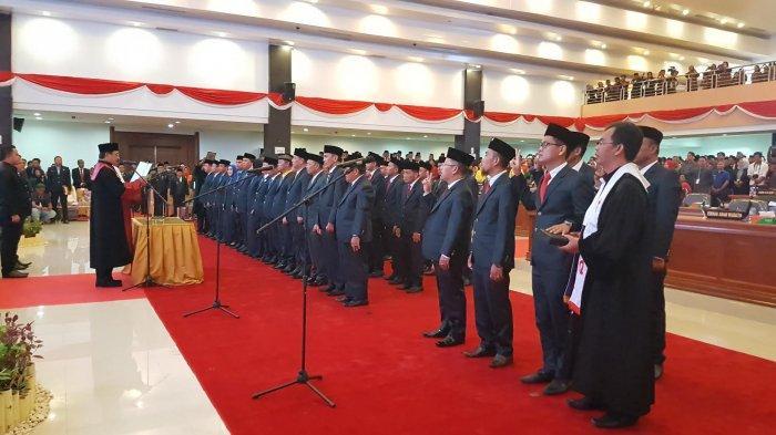 Resmi Dilantik, Berikut 45 Nama Anggota DPRD Sulbar Periode 2019-2024