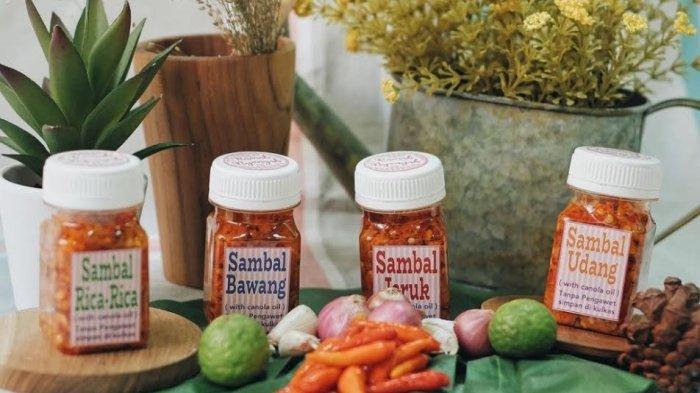 Suka Sambal? Wajib Coba 5 Varian Sambal Minyak Kanola di Rumah Nyonyah, Pedasnya Nampol dan Nagih