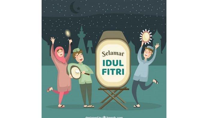 50 Gambar Ucapan Selamat Idul Fitri 2021; Cocok jadi Status WhatsApp, Instagram, Facebook & Twitter