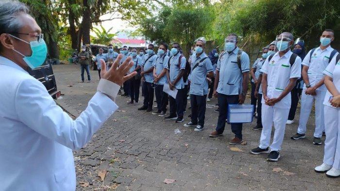 70 Mahasiswa FK Unhas Vokasi Kesehatan Asmat Praktik Klinik di Makassar