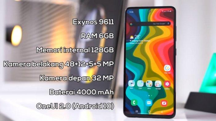 Update Daftar Harga Hp Samsung Maret 2020, Galaxy A50, Galaxy A51, Samsung Galaxy A70, Spesifikasi
