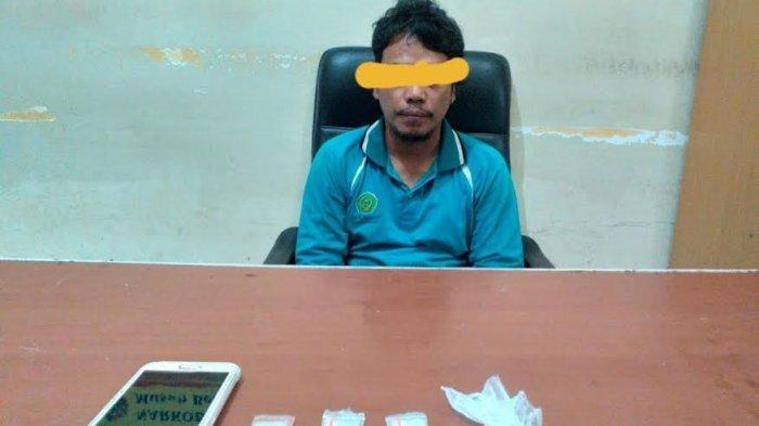 Polisi Menyamar Jadi Pembeli Sabu, Pengedar Asal Wajo Ditangkap Polres Luwu