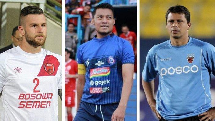 Bursa Transfer - Eks Kapten PSM ke Persita, Sergio Farias Resmi Persija, Aaron Evans Gabung Persik