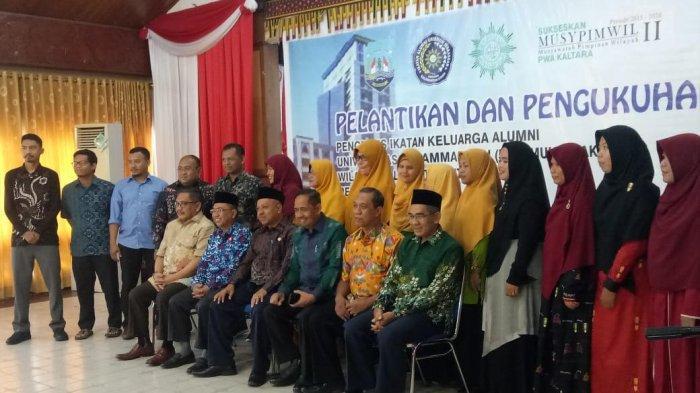 Prof A Rahman Rahim Hadiri Pelantikan Pengurus IKA Unismuh Cabang Tarakan Kaltra