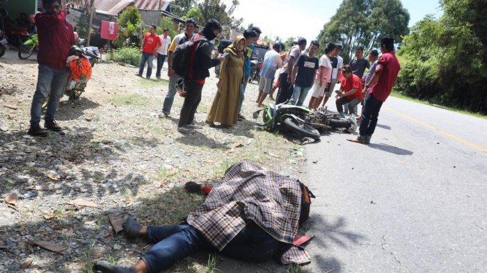 BREAKING NEWS: Truk Vs Motor Honda CBR di Luwu Timur, 1 Tewas, Sopir Anggota TNI