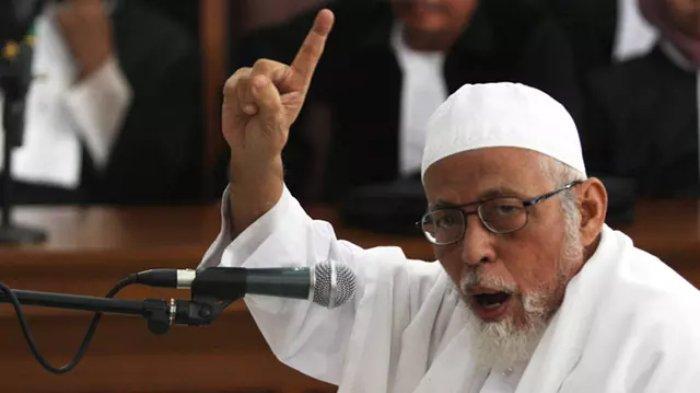 Abu Bakar Baasyir Bebas Murni Pekan Ini, Pernah Akan Dibebaskan Jokowi Tapi Batal, Dibantah Moeldoko