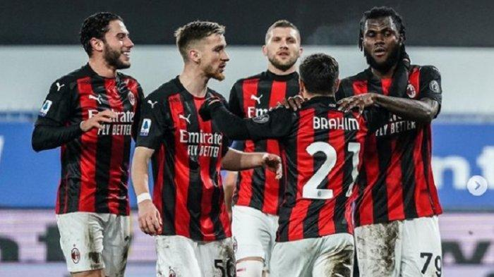 NONTON TV ONLINE AC Milan vs Lazio di Liga Italia, Akses Link Live Streaming RCTI Gratis di Sini