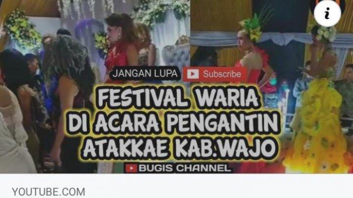 Komunitas Waria Wajo Bikin Festival di Acara Pernikahan, Kapolres Mengaku Kecolongan