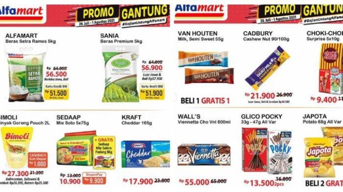 Promo JSM Alfamart Sabtu 31 Juli 2021, Aneka Susu Turun Harga, Luwak White Coffie Beli 3 Gratis 1