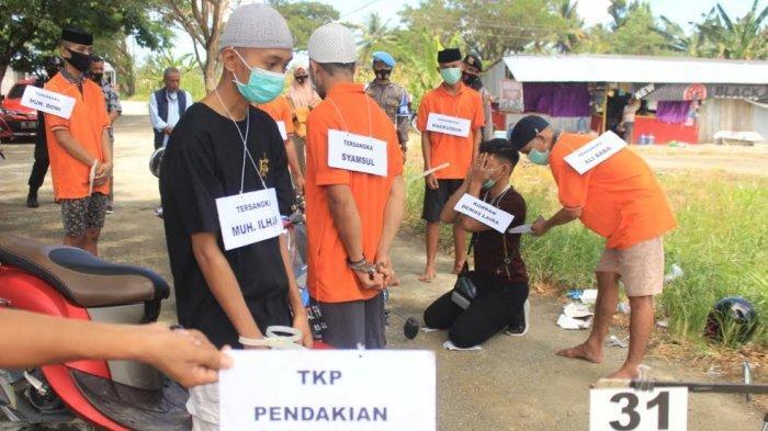 Rekonstruksi Pembunuhan Wartawan di Mamuju Tengah Usai, Keluarga Korban Mengaku Kecewa