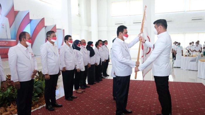 Adnan IYL Lantik Bupati Barru dan Maros Jadi Ketua PMI Kabupaten