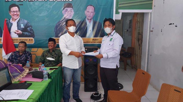 AFK Majid Kembali Dilantik Sebagai Ketua Lembaga Pemenangan Pemilu PKB Barru