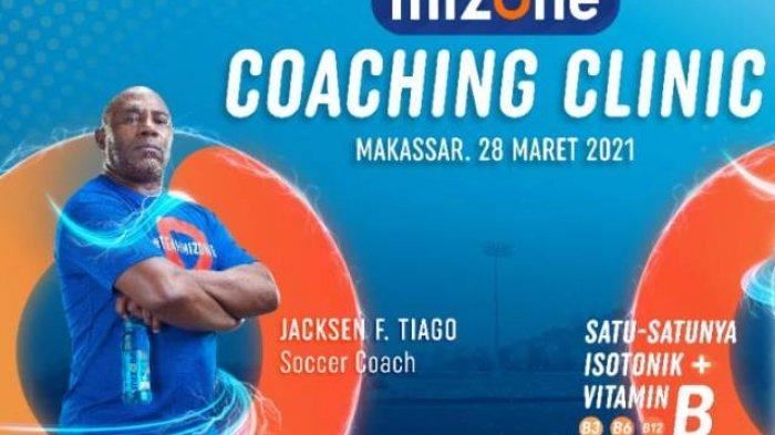 40 Pelatih Sepak Bola di Makassar Akan Ikut Coaching Clinic Bersama Jacksen F Tiago, Ini Jadwalnya