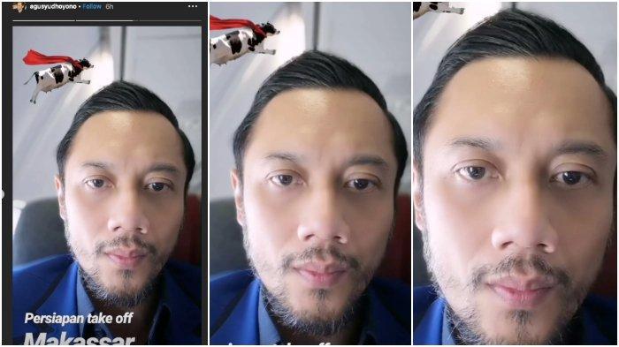 Ke Makassar, Agus Harimurti Yudhoyono AHY Suami Annisa Pohan Pamer Wajah Baru, Ini Selfie Putra SBY