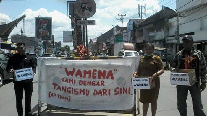 Bantu Korban Kerusuhan di Papua, Anggota DPRD Torut Galang Dana