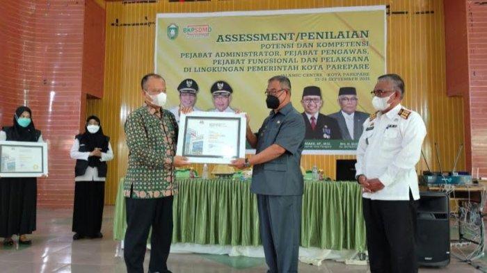 BKPSDMD Parepare Sabet Dua Penghargaan Ajang BKN Award 2021