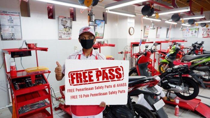 Astra Motor Makassar Siapkan Layanan FREE PASS untuk Sleeping Customers