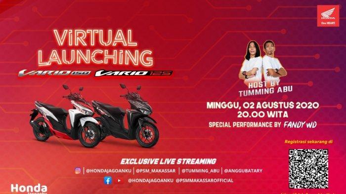 Catat Tanggalnya! Astra Motor Makassar Launching Virtual New Honda Vario, Banyak Hadiahnya Lho!