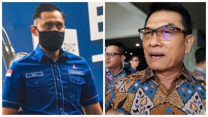 AHY Putra SBY Kian Terancam sebagai Ketua Umum Partai Demokrat, Moeldoko Lengserkan Dia Bulan Ini?