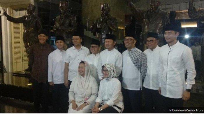 AHY Makin Mesra dengan Gubernur & Bupati/Walikota Pendukung Jokowi, Bukti Tinggalkan Prabowo-Sandi?