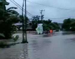 Selain Ponrang, Banjir Juga Terjadi di Bupon Luwu