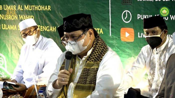 Airlangga dan Habib Syeikh Jadi Tuan Rumah Haul Ki Ageng Gribik di Klaten