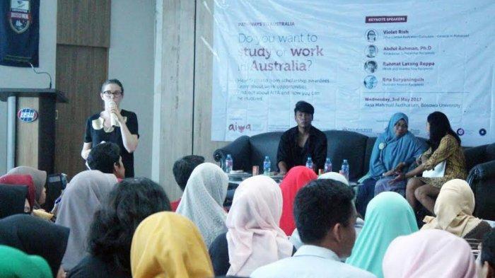 Alumni AIYA Motivasi Mahasiswa Makassar Kuliah di Australia