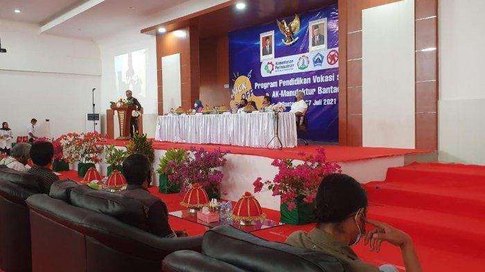 Launching Pendidikan Vokasi Setara DI, AK-Manufaktur Bantaeng Buka 3 Program Studi