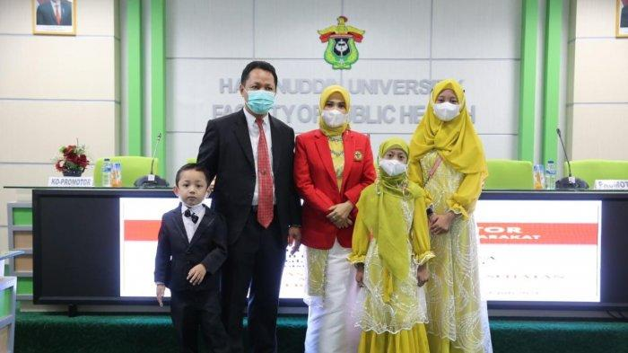 Wakil Rektor Unimerz Julia Fitrianingsih Promosi Doktor di Unhas Makassar