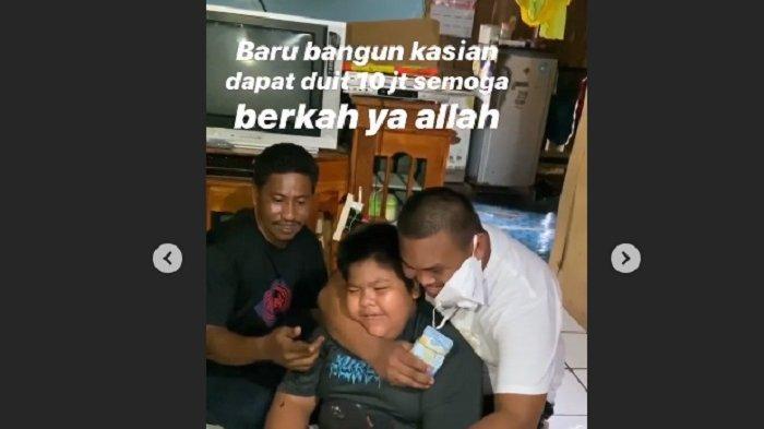 Bangun Tidur, Rizal 'Jalangkote' Korban Bullying Dapat Rp 10 Juta dari Ajudan Pribadi