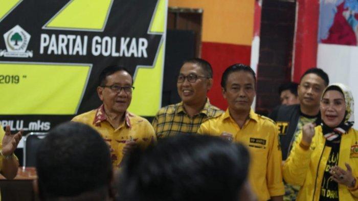 Politisi Golkar asal Sulsel Layak Jadi Menteri Menurut Akbar Tanjung