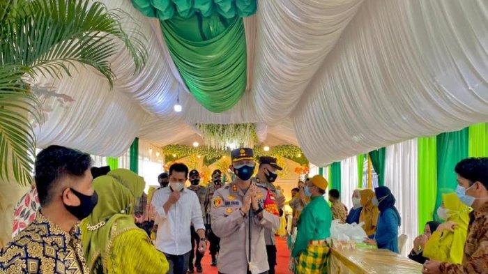 Kapolres AKBP Andi Sinjaya Pantau Langsung 3 Pesta Pernikahan di Enrekang, Satu Kena Teguran Keras