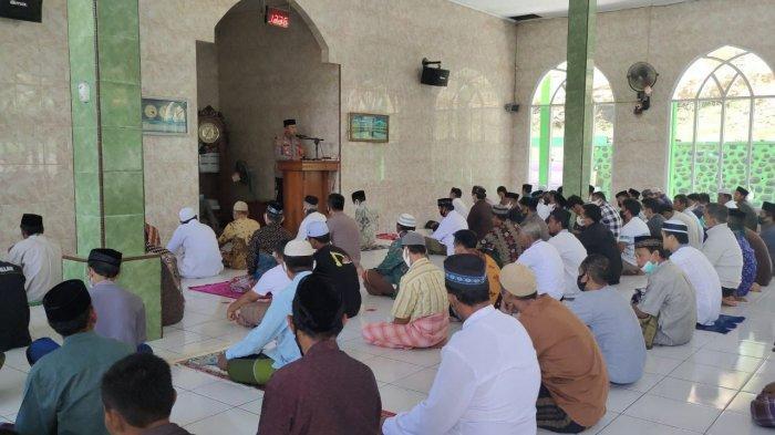Safari di Masjid Ridha Allah Malauwe, Kapolres Enrekang: Butuh Bantuan Hubungi 110