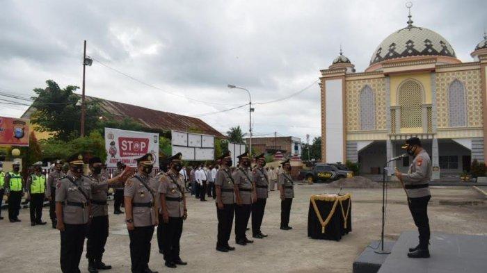 Enam Perwira Polres Sidrap Dimutasi, Kompol Muhtar Kini Jabat Wakapolres
