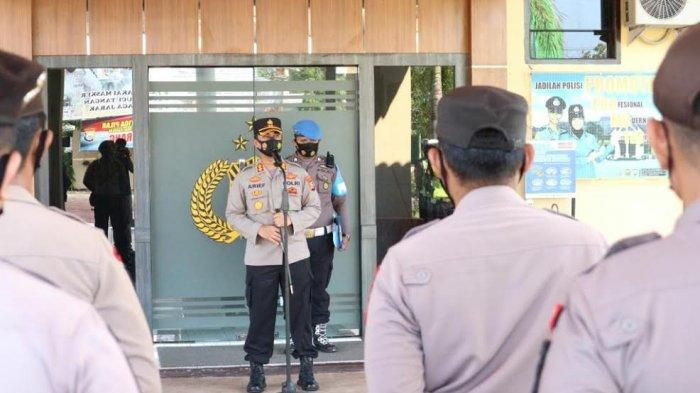 Hari Buruh, 95 Personel Polisi Disiagakan di Pinrang