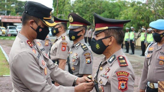 12 Perwira Polres Pinrang Resmi Dimutasi, Berikut Nama dan Jabatannya