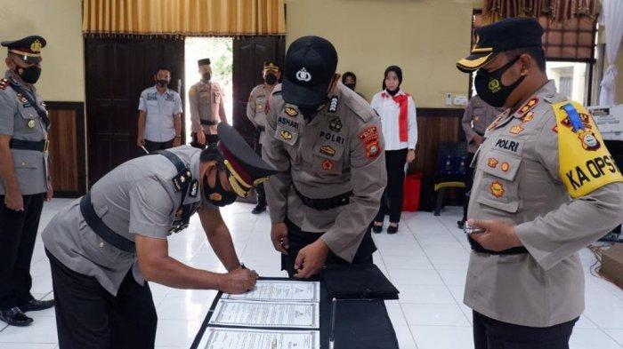 Tiga Perwira Polres Wajo Dimutasi, Mantan Kapolsek Belawa Kini Jabat Kasat Narkoba Sidrap