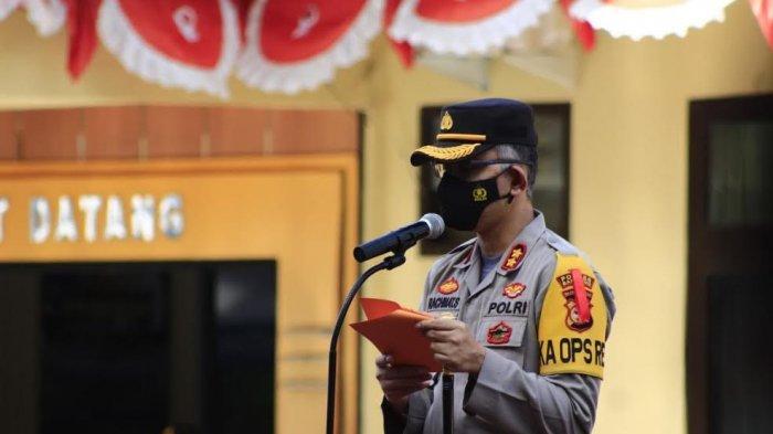 6 Perwira dan 35 Bintara di Polres Bantaeng Naik Pangkat