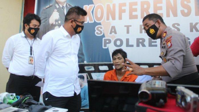 Polres Gowa Tembak Residivis Pelaku Curat