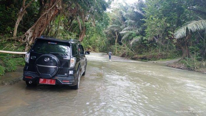 Susahnya Akses Menuju Desa Pariwang Enrekang, Lewati 7 Sungai dan Terisolir Jika Hujan Deras