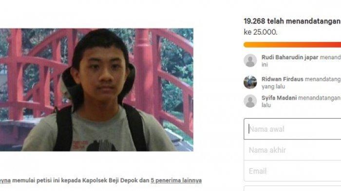 Trending Kapolsek Beji Depok Didesak Bongkar Otak Pembunuh Mahasiswa UI Akseyna Pasca 6 Tahun