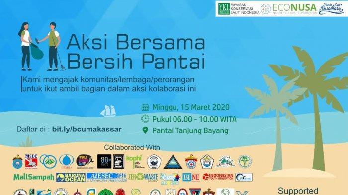 1.000 Warga Siap Turun Bersihkan Pantai Tanjung Bayang